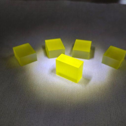GAGG Scintillator crystal tested