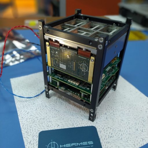 HERMES-SM payload Demonstration Model environmental tests at Politecnico di Milano